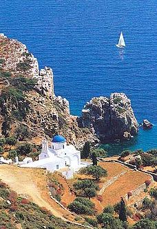 Panagia Poulati - Panagia Poulati, chruch on Sifnos island