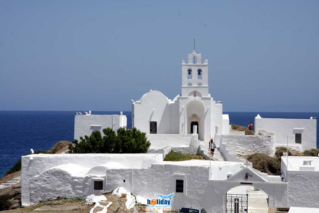 View of Chrysopigi monastery SIFNOS PHOTO GALLERY - Chrysopigi monastery by Ioannis Matrozos