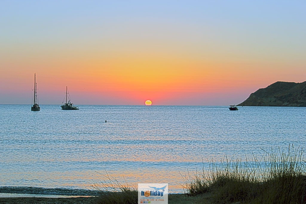 Sunset Beach Kamares -  by gstathis