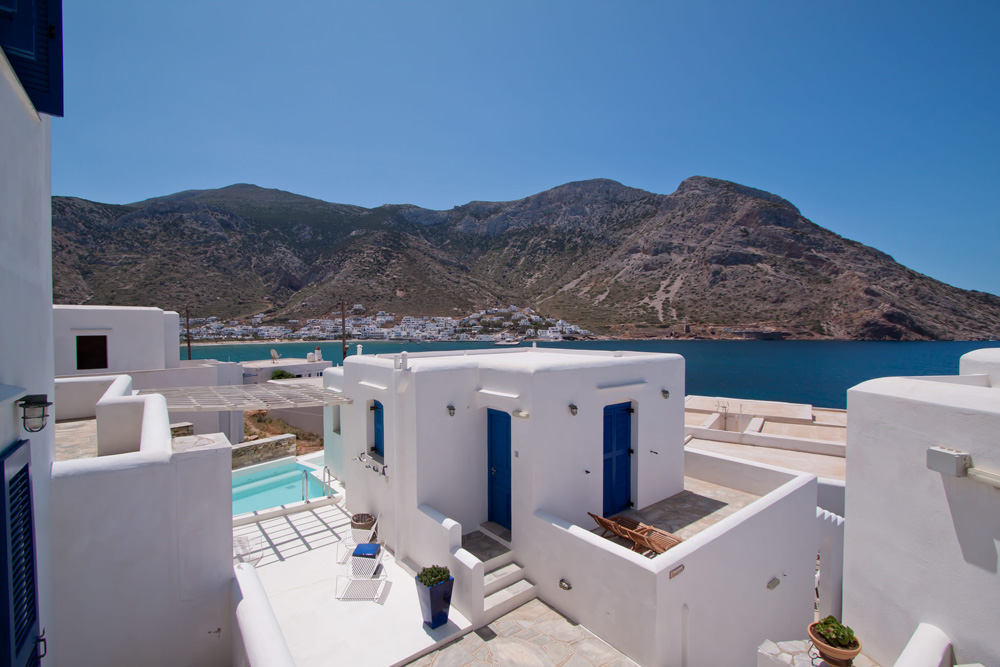 DELFINI HOTEL IN  Kamares Sifnos Cyclades islands