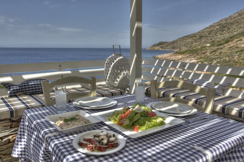 Delfini Restaurant Restaurants In Kamares Sifnos Greece